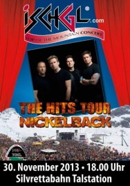 Nickelback live in Ischgl 2013