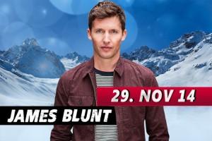 James Blunt wird sich am 29.11. in Ischgl die Ehre geben...