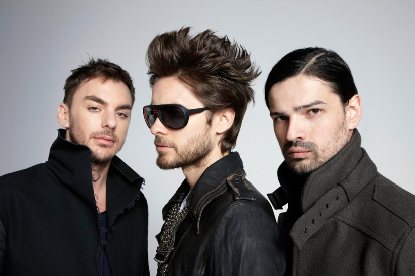 Coole Burschen, bald in cooler Location: Thirty Seconds To Mars gastieren am 02.05. in Ischgl.
